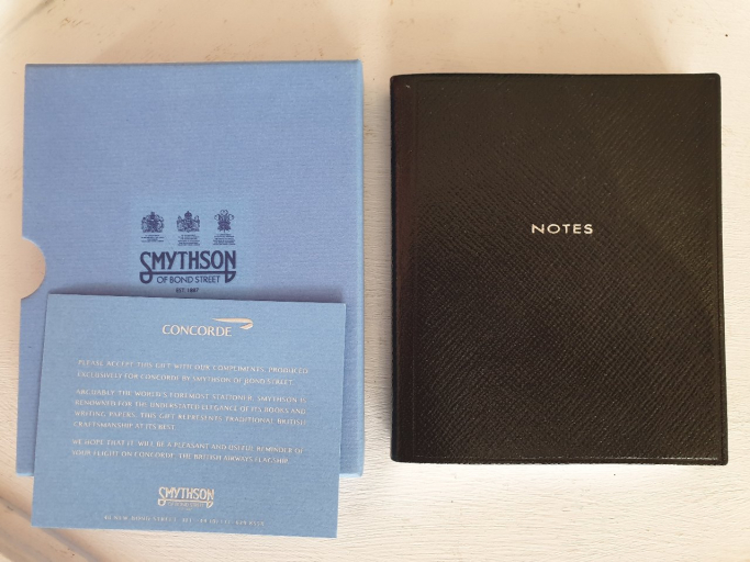 Concorde - Smithson Notebook boxed
