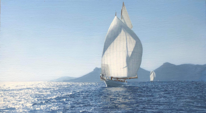 The Schooner Naema at Cannes 2018 - Study