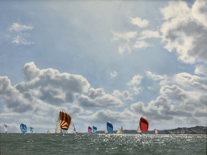 Round the Island Race - Off Seaview