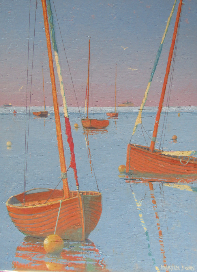 Seaview Dinghies - Still Evening 1
