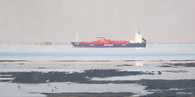 Gas Chem Approaching Portsmouth
