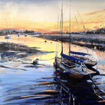 Bembridge Harbour - Evening