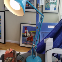 Anglepoise Vintage Duck Egg Blue Lamp