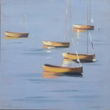 Dinghies - Evening Light