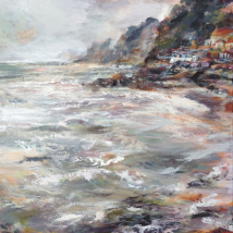 Steephill Cove - Olive sea