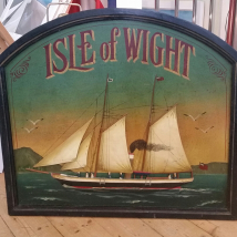 Isle of Wight Wooden sign