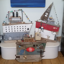 Some examples of Gill's Batty Boats