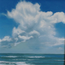 summer Cumulus Cloud  - Study